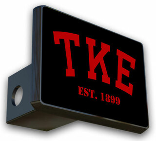 Tau Kappa Epsilon Trailer Hitch Covers