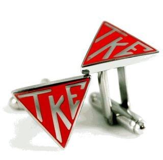 Tau Kappa Epsilon Triangle Cufflinks