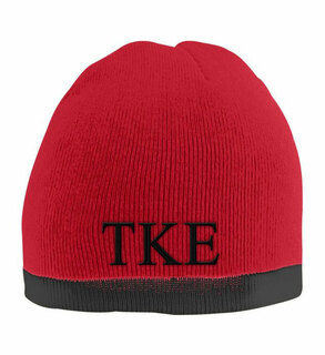 Tau Kappa Epsilon Two Tone Knit Beanie