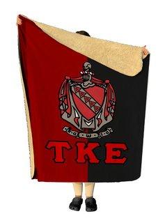Tau Kappa Epsilon Two Tone Two Tone Sherpa Lap Blanket