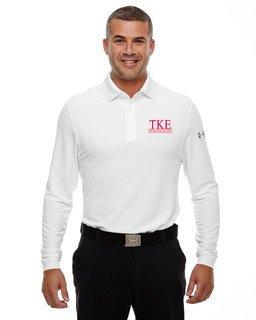 Tau Kappa Epsilon Under Armour�  Men's Performance Long Sleeve Fraternity Polo