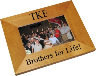 Tau Kappa Epsilon Wood Picture Frame