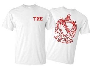 Tau Kappa Epsilon World Famous Crest - Shield Tees
