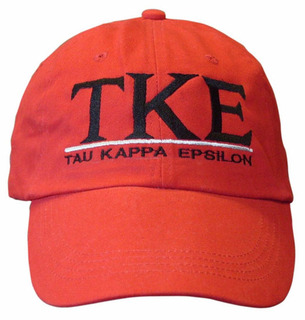 Tau Kappa Epsilon World Famous Line Hat - MADE FAST!