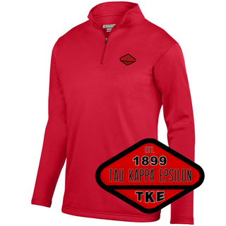 DISCOUNT-Tau Kappa Epsilon Woven Emblem Wicking Fleece Pullover