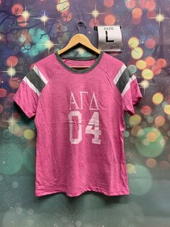 The New Super Savings - Alpha Gamma Delta 04 Jersey - PINK