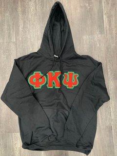 The New Super Savings - Phi Kappa Psi Lettered Sweatshirt - BLACK