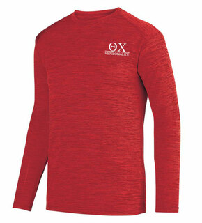 Theta Chi- $20 World Famous Dry Fit Tonal Long Sleeve Tee