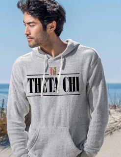 Theta Chi Line Crest Lucas Loop Fleece Hood