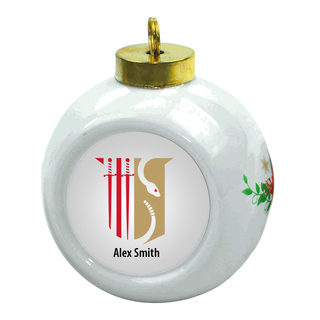 Theta Chi Christmas Ornaments