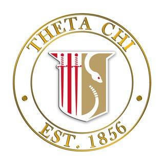 Theta Chi Circle Crest - Shield Decal