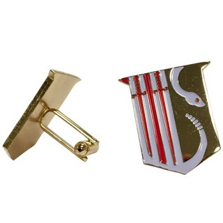 Theta Chi Color Crest - Shield Cuff links