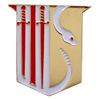 Theta Chi Color Crest - Shield Pins