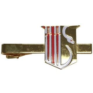Theta Chi Color Crest - Shield Tie Clips