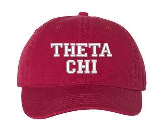Theta Chi Comfort Colors Pigment Dyed Baseball Cap