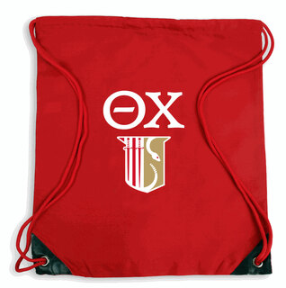 Theta Chi Crest Cinch Sack