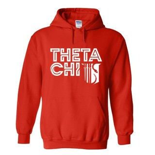 Theta Chi Crest - Shield Element Hoodie