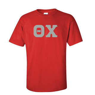 Theta Chi Discount Twill Lettered Tee