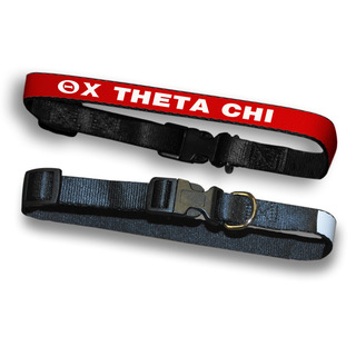 Theta Chi Dog Collar