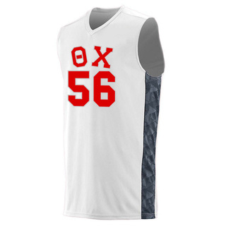 Theta Chi Fast Break Game Basketball Jersey