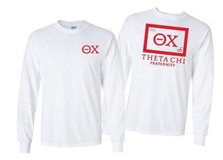 Theta Chi Flag Long Sleeve T-shirt