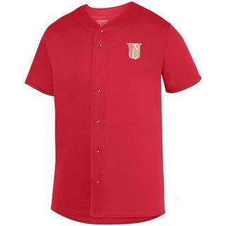 DISCOUNT-Theta Chi Fraternity Crest - Shield Sultan Baseball Jersey