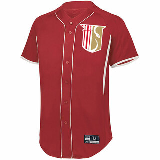 Theta Chi Game 7 Full-Button Baseball Jersey