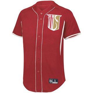 Theta Chi Game 7 Full-Button Baseball Jersey