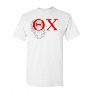 Theta Chi Greek Crest - Shield T-Shirt