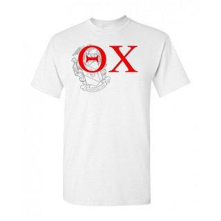 Theta Chi Greek Crest - Shield T-Shirt