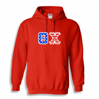 DISCOUNT-Theta Chi Greek Letter American Flag Hoodie