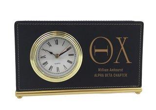 Theta Chi Horizontal Desk Clock