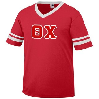 DISCOUNT-Theta Chi Jersey With Custom Sleeves
