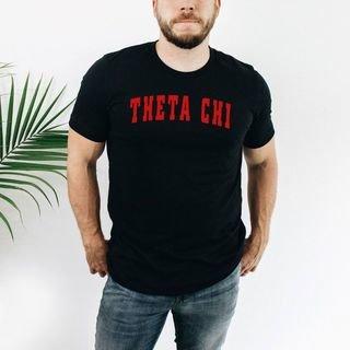 Theta Chi letterman tee