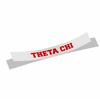 Theta Chi Long Window Sticker