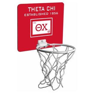 Theta Chi Mini Basketball Hoop