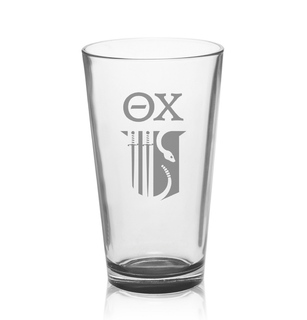 Theta Chi Mixing Glass