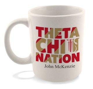 Theta Chi Nations Coffee Mug
