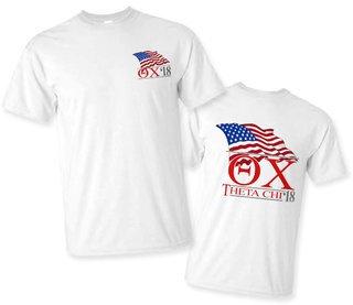 Theta Chi Patriot Limited Edition Tee- $15!