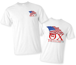 Theta Chi Patriot Limited Edition Tee- $15!