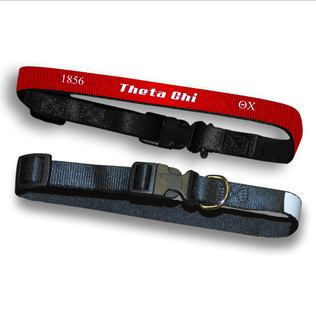Theta Chi Pet Collar