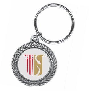 Theta Chi Pewter Key Ring