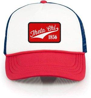 Theta Chi Red, White & Blue Trucker Hat