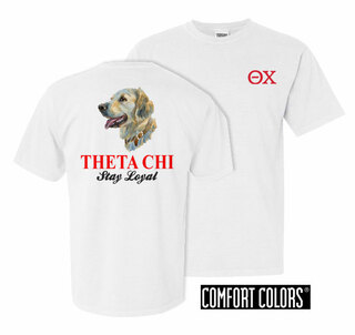 Theta Chi Stay Loyal Comfort Colors T-Shirt