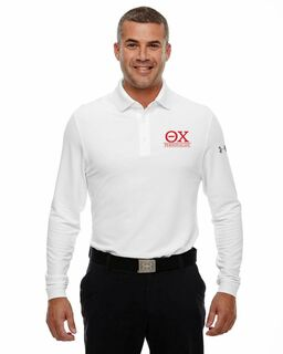 Theta Chi Under Armour®  Men's Performance Long Sleeve Fraternity Polo