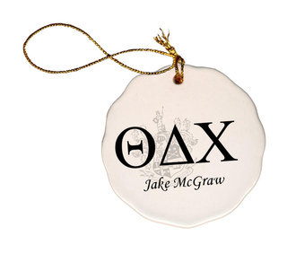 Theta Delta Chi Christmas Ornaments