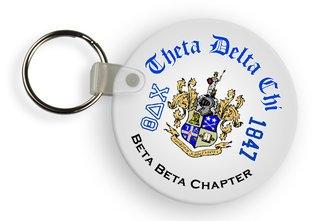 Theta Delta Chi Color Keychains