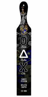 Theta Delta Chi Custom Full Color Paddle