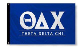 Theta Delta Chi Custom Line Flag