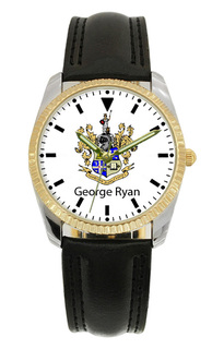 Theta Delta Chi Greek Classic Wristwatch